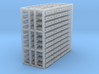 Pallet Rack with 88  3d printed
