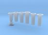 FR D1/J1/E1/SPC - Chimneys Interchangeable Kit 3d printed
