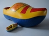 Just a Wooden Shoe 3d printed The Small one is pushing