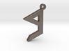 Letter BEYT - Paleo Hebrew - With Chain Loop 3d printed