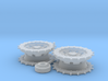 A30 Challenger correct Sprocket 1:35 scale 3d printed