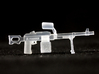 PK Machine Gun 3d printed
