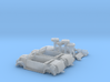 STEYR COMMAND CAR - (2 pack) - (1:100) 3d printed