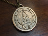 Silent Hill Pendant 3d printed