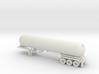 HO 1/87 LPG tri-axle tanker, trailer 15 3d printed