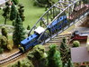 EMD SW1500 Switcher w/B unit 3d printed Photo and painted by Walter Smith