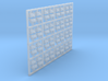 Sheep - Head Raised X 64 1:120 Scale 3d printed