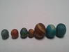 Detailed Mercury Venus Earth and Mars 3d printed Photo of Detailed Planet Set