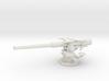 1/32 USN 4 inch 50 (10.2 cm) Sub Deck Gun 3d printed