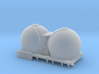 """N NS Bollenwagen (""""oude"""" ARNOLD silowagen donor) 3d printed"""