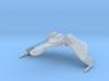 1/3900 QuD Frigate - Attack mode 3d printed