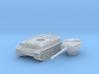 Tiger tank (Germany) 1/144 3d printed