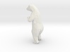 14cm Low Poly Bear Statue 3d printed