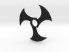 Tri-Blade Shuriken Fidget Spinner 3d printed