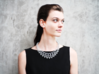 Rhombus Necklace 3d printed