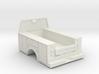 Standard Full Box Truck Bed W Cab Guard 1-50 Scale 3d printed