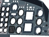 412 / Airwolf Instrument Panel 3d printed