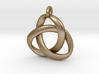 3D Open Triquetra Pendant 4.5cm 3d printed