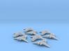 HOMEFLEET Corvette Squadron - 8 ships 3d printed