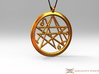 Sigil of the Gates Pendant 4.5cm 3d printed Pendant cord not included