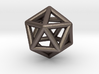 Icosahedron Golden Ratio Pendant 3d printed
