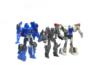 """02-ASV """"Recon"""" 3d printed Size Comparison with Transformers Legion Evac & Smokescreen"""