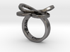 AMOUR in polished nickel steel  3d printed