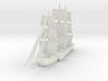 1/1000 Sailing Steamer version 1 3d printed