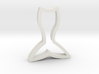Mermaid's Tail 2 Cookie Cutter 3d printed