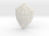 Hylian Shield curved for display 3d printed