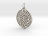 Christmas Holdiday Lace Ornament Pendant Charm 3d printed