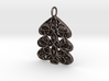 Christmas Tree Holdiday Lace Pendant Charm 3d printed