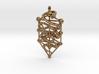 Kabbalah Serpent Pendant 6.5cm 3d printed
