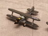Beech UC-43 Traveler (Pair) 1/285 6mm 3d printed Beech Staggerwing, GB-1 is us navy tricolor scheme