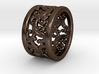 Plants Ornament Ring size 6 3d printed