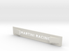 "Lancia Delta 1 ""Martini Racing"" window Shield 1 3d printed"