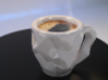 Crushed Espresso Cup 3d printed