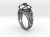 3-2 Enneper Curve Twin Ring 3d printed 3-2 Enneper Curve Twin Ring