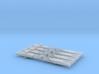 NEM OO Type 1 Couplings - Strait 3 Link x4 3d printed