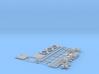1/16 PT Boat Small Parts Set501 3d printed