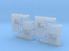 AA/DT&I GP35 Nose Bell Recess x4 3d printed
