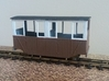 RH&DR 4 wheel coach with windows (09) 3d printed