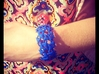 Conectate Bracelet 3d printed Royal Blue Strong & Flexible