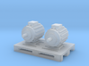 Elektromotoren auf Europalette - 1:120 TT 3d printed