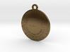 Benchmark Keychain 3d printed