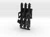 """1/18 XM-25 """"Punisher"""" CDTE (3 Pack) 3d printed"""