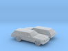 1/160 2X 1975 Chevrolet Chevelle Station Wagon 3d printed