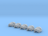 Blank cataphractii Shoulders Right Side - Rebuilt  3d printed