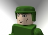 GI Joe Helmet For Minimates 3d printed