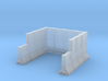 Concrete Retaining Wall Single Bay 3d printed